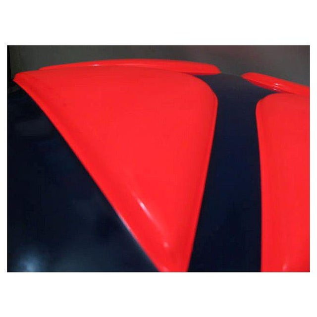 Blue Arco Gas Station Logo Oil Lighting Sign For Sale - Image 8 of 12