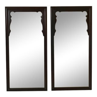 Century Mid Century Modern Design Mirrors - a Pair For Sale