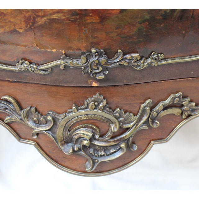 """Louis XV Style """"Vernis Martin"""" Cabinet - Image 4 of 10"""