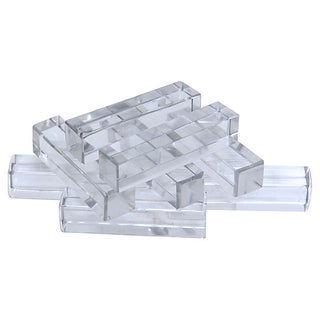 French St Louis Crystal Knife Rests, S/9 Preview