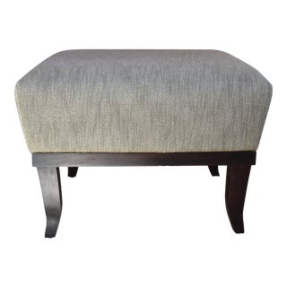 Gray Upholstered Cary Stool