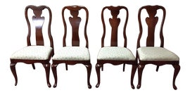 Vintage Amp Used Mahogany Dining Chairs Chairish