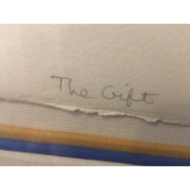 """""""The Gift"""" Ruth Weisberg Lithograph For Sale In Los Angeles - Image 6 of 11"""