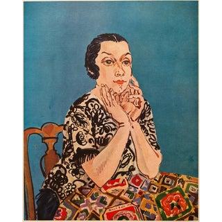 1950s Raoul Dufy, Portrait of Mme Dufy For Sale