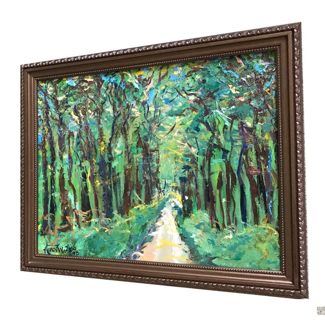"""It's A Jungle Out There 20""""x16"""" Original Oil Painting on Canvas Framed Great gift. Ready to hang. Nancy T. Van Ness..."""