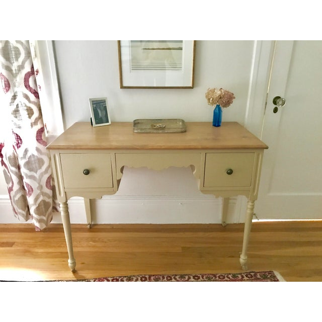 Vintage 3-Drawer Desk - Image 3 of 10