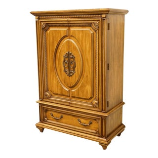 "20th Century Italian Basic-Witz 40"" Armoire/Door Chest For Sale"