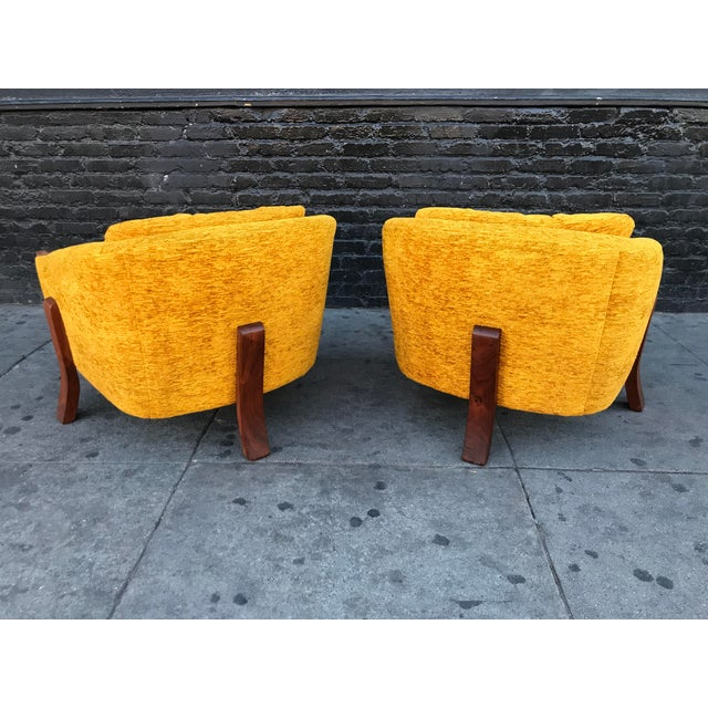 Mid Century Lounge Chairs by Chelmode Furniture - A Pair For Sale - Image 9 of 13