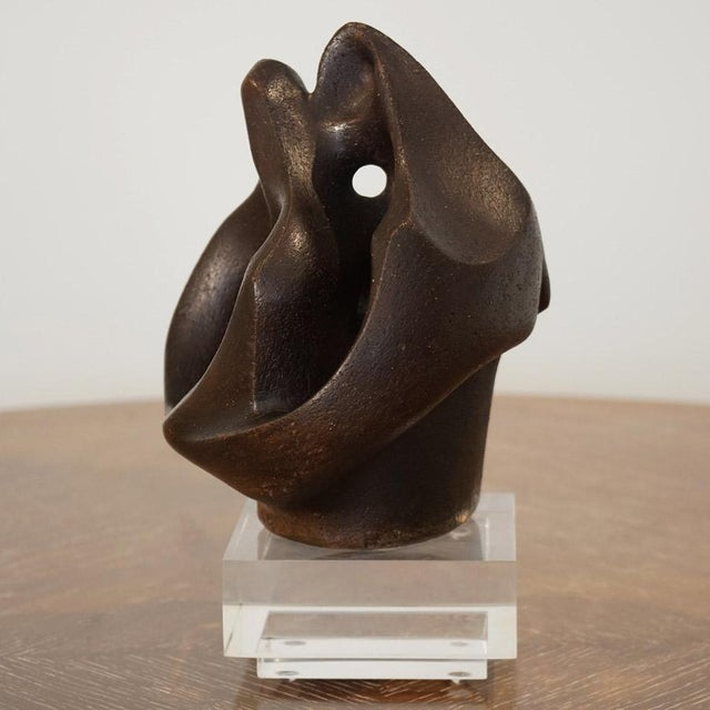 1960s Sheldon Caris Abstract Sculpture For Sale - Image 4 of 10