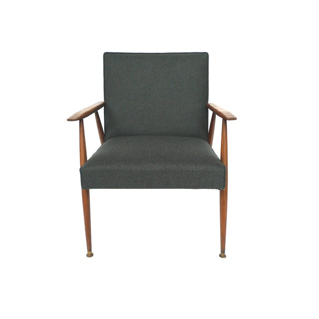 Midcentury Italian Lounge Chairs - Pair - Image 2 of 10