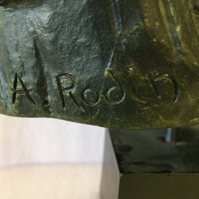 Bust Of De Balzac by A. Rodin For Sale In Sacramento - Image 6 of 11