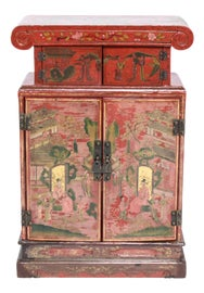 Image of Chinoiserie China and Display Cabinets