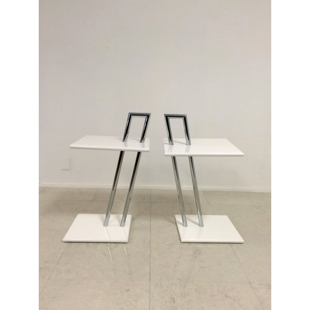 Vintage Eileen Gray Occasional Tables - A Pair - Image 6 of 6