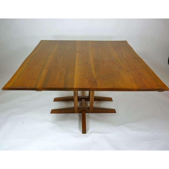George Nakashima Frenchman's cove dining table.