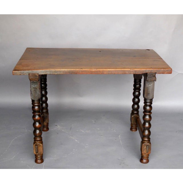 Mediterranean 18th Century Spanish Table For Sale - Image 3 of 11