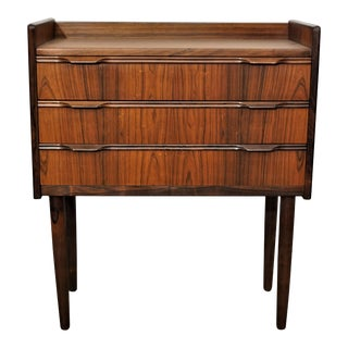 Original Danish Mid Century Rosewood Side Dresser - Tohundredefire For Sale