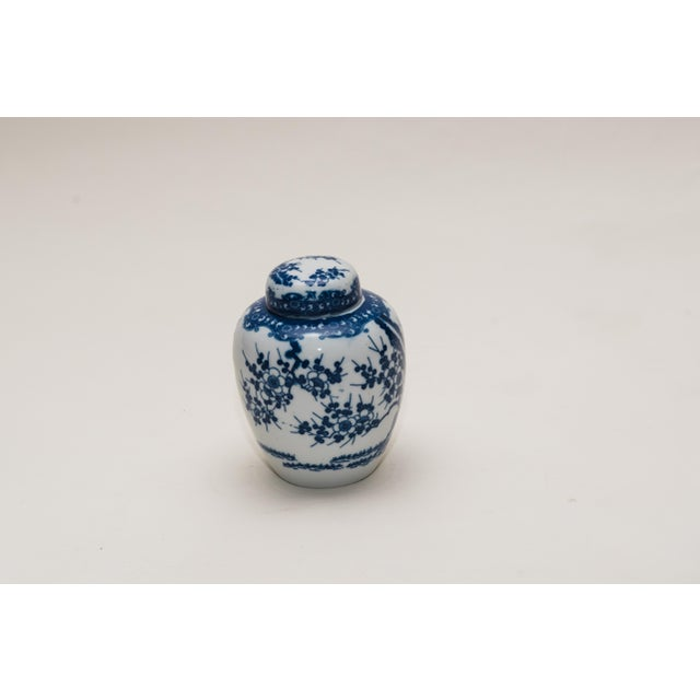 Asian Cherry Blossom Ginger Jar For Sale - Image 3 of 6