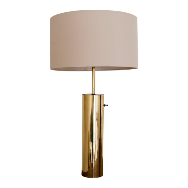 Mid Century Modern Brass Table Lamp Chairish