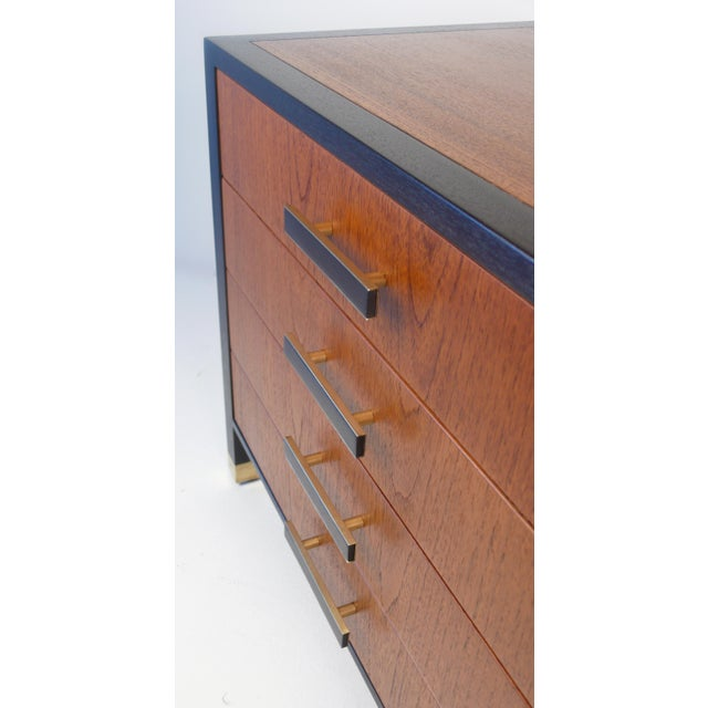 Brass Harvey Probber Chest Nightstand For Sale - Image 7 of 7