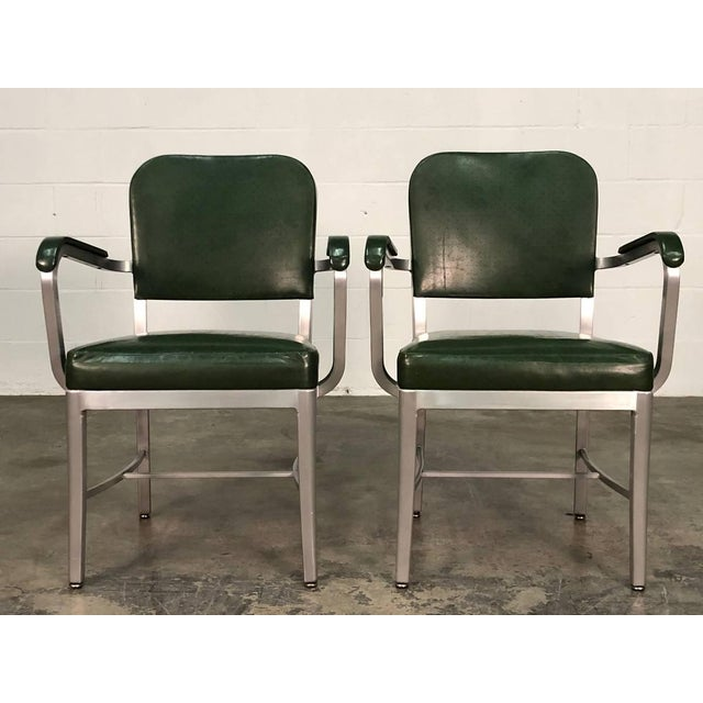 -MANUFACTURE: Cole-Steel -IN THE STYLE OF: Mid-Century Industrial -DATE OF MANUFACTURE: 1950's-1960's -MATERIALS SEAT &...
