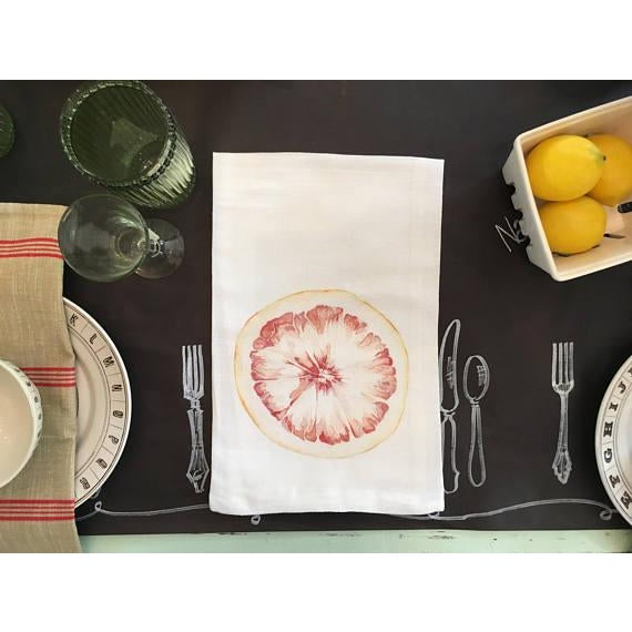 This tea towel is printing with an image of an original watercolor painting by Mary. The towel is 100% cotton, highly...