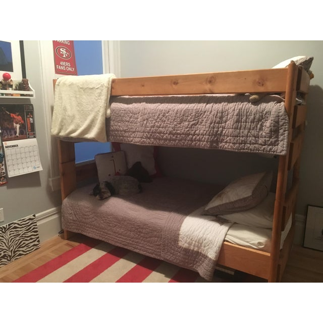 Solid Pine Bunkbed - Image 3 of 5