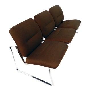 Mid-Century Modern Steelcase Sofa For Sale