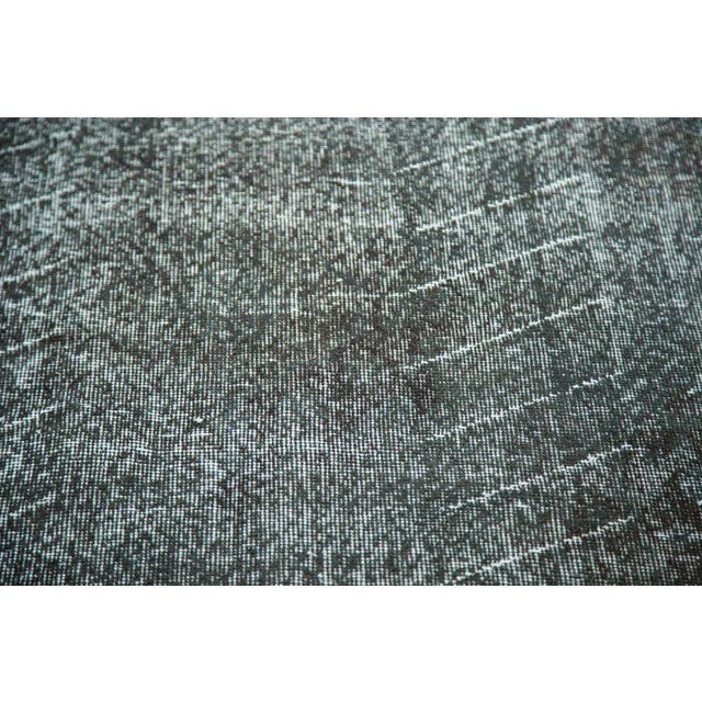 """Vintage Overdyed Distressed Runner - 4'8"""" x 12'6"""" - Image 7 of 9"""