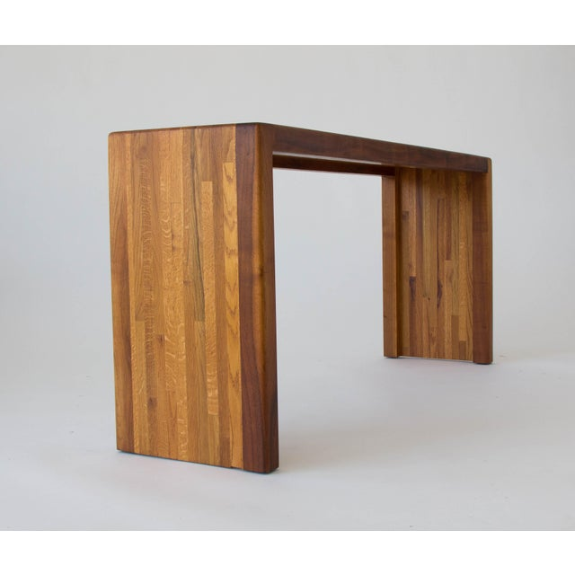 Lou Hodges for California Design Group Solid Wood Console Table For Sale In Los Angeles - Image 6 of 11
