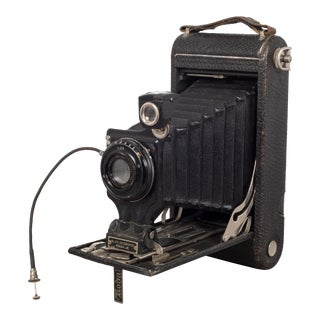 "Antique ""No. 2c Autographic Kodak Jr."" Folding Camera C.1916 For Sale"
