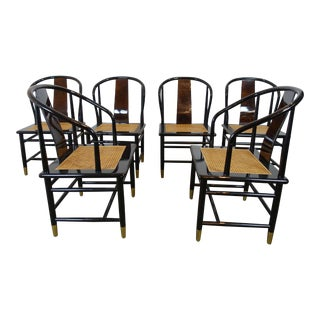 Henredon Mid-Century Modern Dining Chairs - Set of 6 For Sale