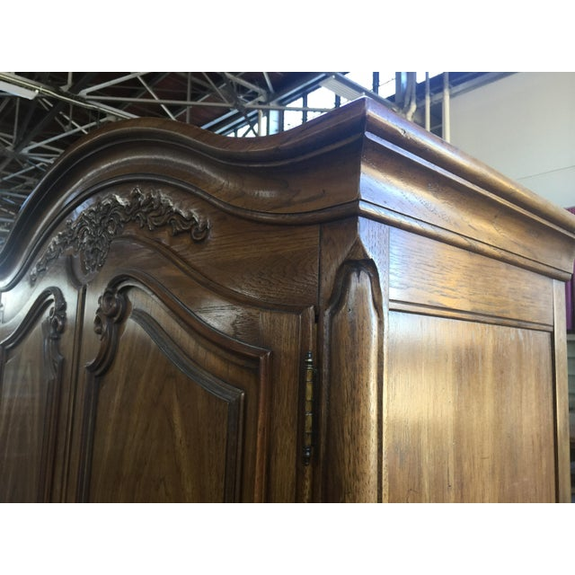 1970s Thomasville Armoire French Provincial For Sale - Image 5 of 8