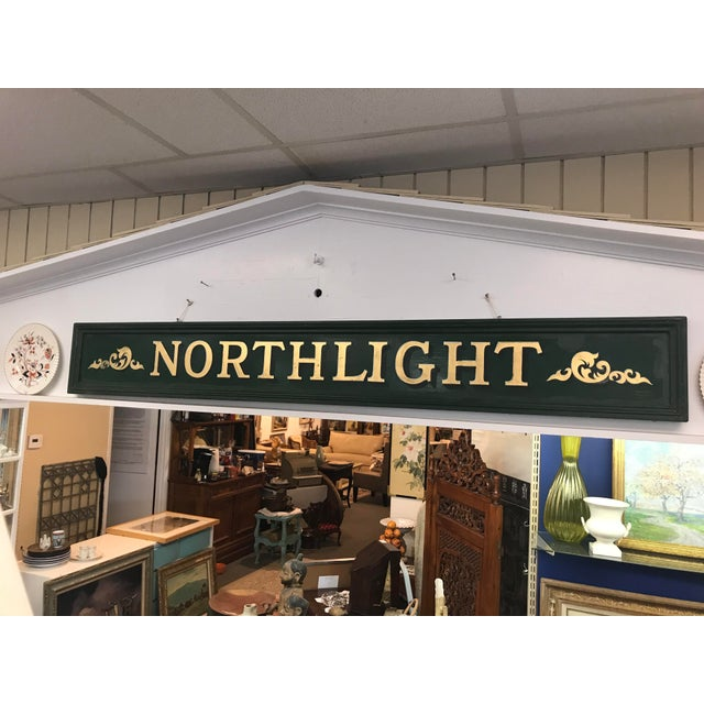 Vintage Northlight Decorative Sign For Sale In New York - Image 6 of 7