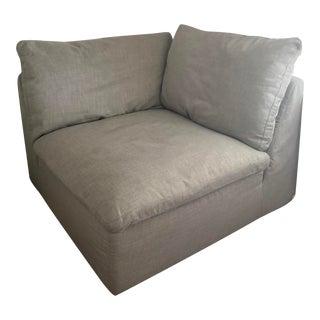 Restoration Hardware Cloud Couch Lux Corner Module For Sale