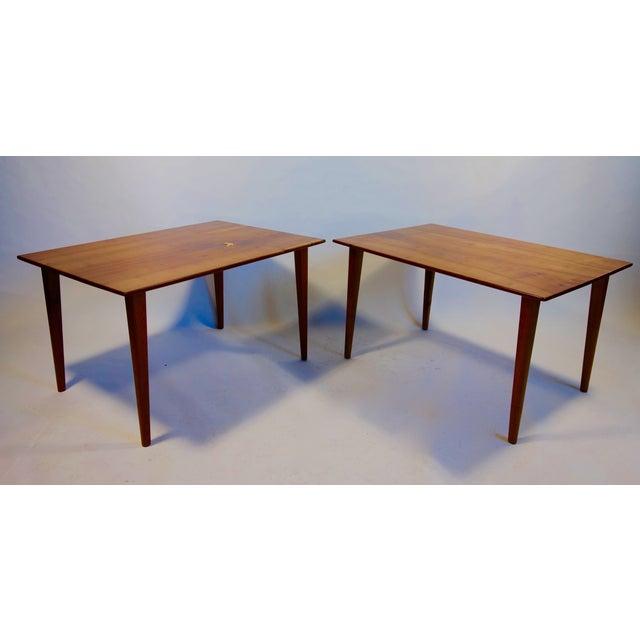 Danish Modern Arthur Espenet Carpenter III Tables - A Pair For Sale - Image 3 of 7