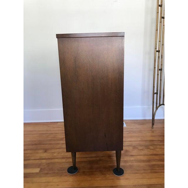 Bassett Furniture 1960s Mid Century Modern Bassett 4 Drawer Dresser For Sale - Image 4 of 11