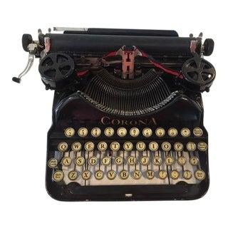Antique Corona Typewriter For Sale