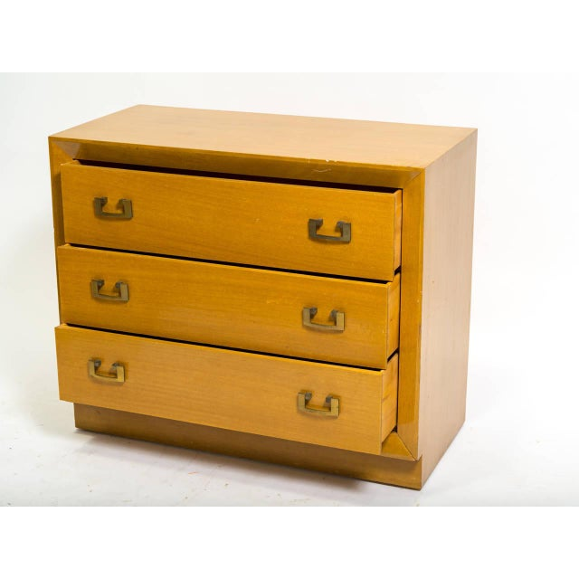 1950s Pair of 1950s John Stuart Bachelor Chests For Sale - Image 5 of 9
