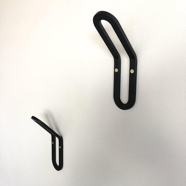 "Metal ""Pill"" Wall Hook For Sale - Image 7 of 8"