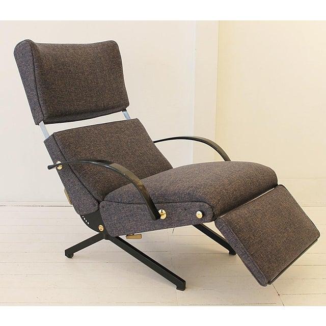Metal Lounge Chair P40 by Osvaldo Borsani for Tecno For Sale - Image 7 of 7