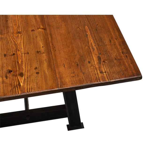 """""""Atelier"""" French Farm Table For Sale - Image 4 of 10"""