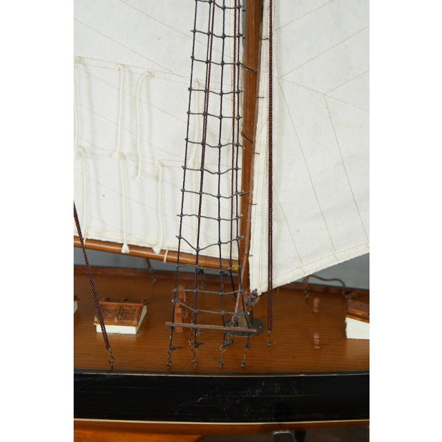 Nautical Large Model Sailing Boat For Sale - Image 3 of 10