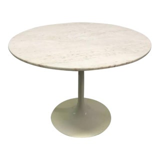 Eero Saarinen Marble-Top Dining Table For Sale
