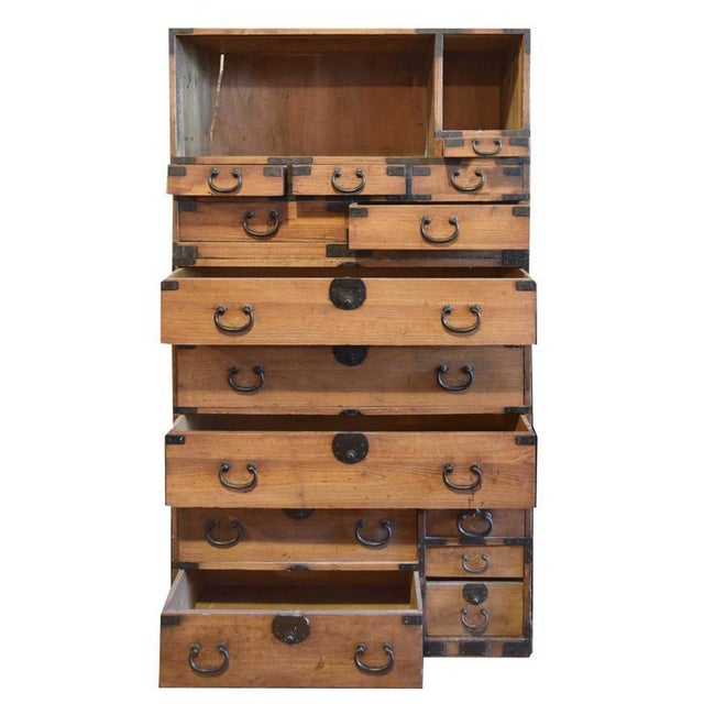 Japanese Tansu Chest - Image 2 of 6