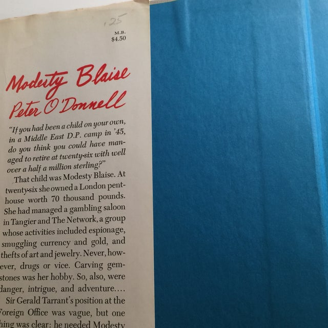 """1965 Peter O'Donnell """"Modesty Blaise"""" Book For Sale - Image 4 of 7"""