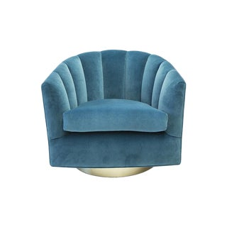 The Taylor Swivel Chair by South Loop Loft - Custom, Made in Chicago + Com For Sale