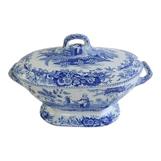 Large Antique Spode Soup Tureen, C. 1830