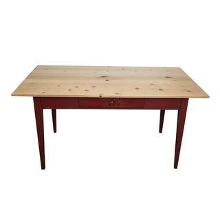 Piper Classics Custom Pine Farm Dining Table