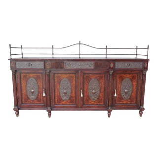 Theodore Alexander Flame Mahogany Regency Style Sideboard Buffet 6105-131