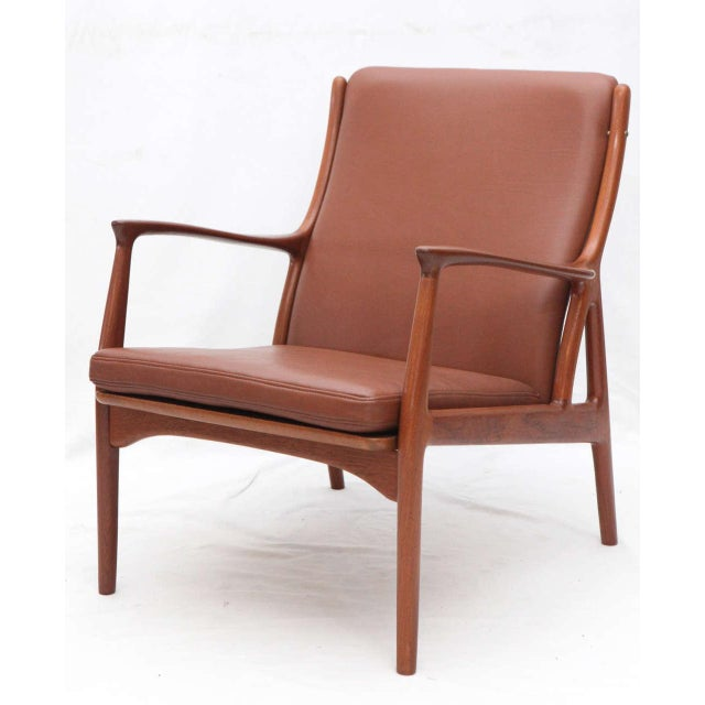 Pair of S. A. Andersen Lounge Chairs - Image 5 of 10